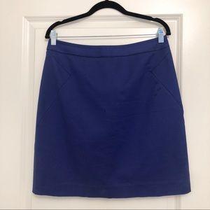Kate Spade Valentine Cobalt Blue Skirt